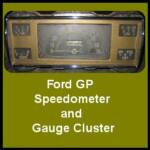 There is speculation that there are other speedometers that were used by Ford for the GP.  Some were made by Waltham and some are said to have been marked with shift points for the various optimum gear pattern.   This is purely assumption and not proven as yet by any documents with Ford monikers.